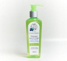 Nettoyant pour visage aux bleuets sauvages